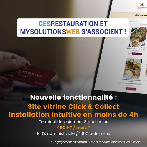 MysolutionsWEB Click & Collect  pour vous aider à traverser la crise